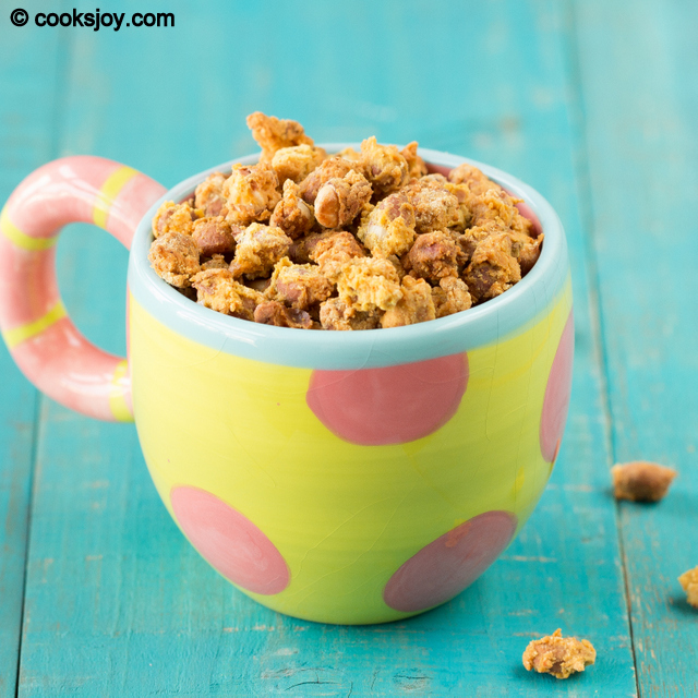 Baked Masala (Spicy) Peanuts | Cooks Joy
