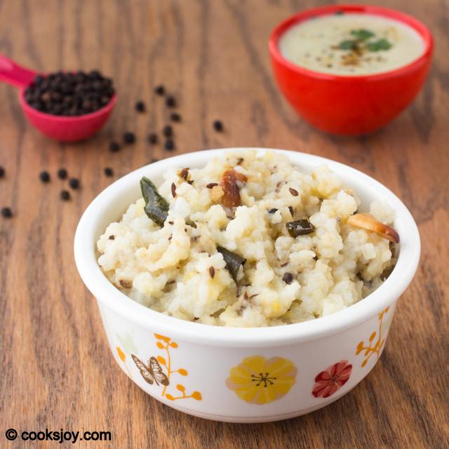 Ven Pongal | Cooks Joy