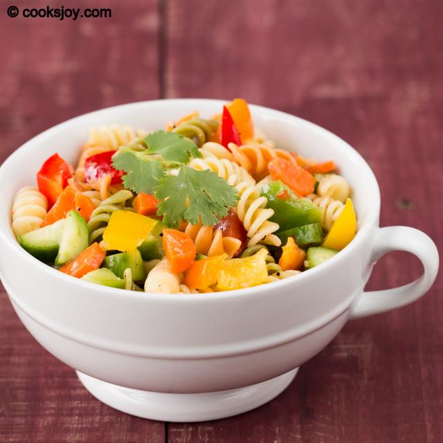 Summer Pasta Salad | Cooks Joy