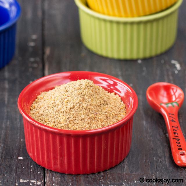 Coriander Seeds Podi (Dhaniya Podi) | Cooks Joy