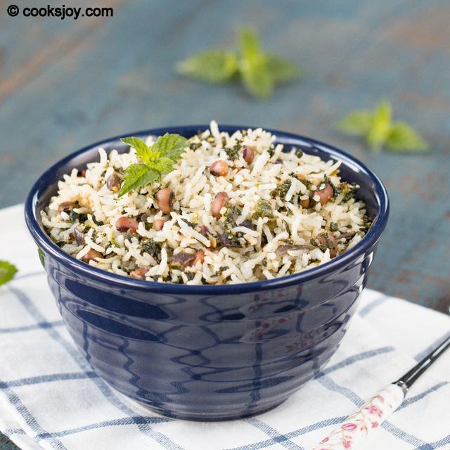 Spinach Garlic Rice | Cooks Joy