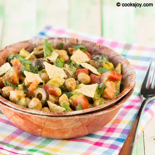 Crunchy Avocado Salad | Cooks Joy