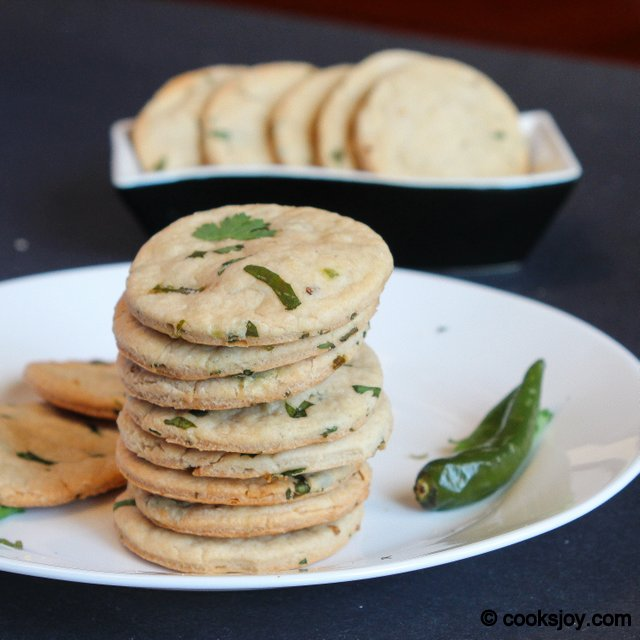 Khara Biscuit (Spicy Cookie) | Cooks Joy
