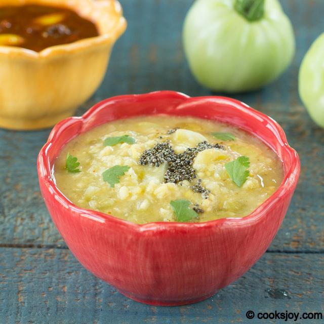 Raw Tomato Kootu | Cooks Joy