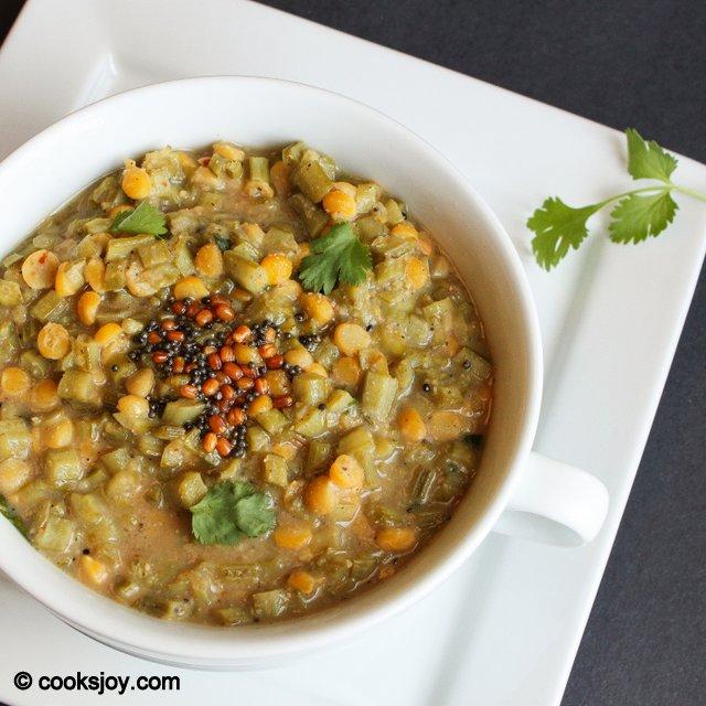 Kothavarangai Puli Kootu | Cooks Joy