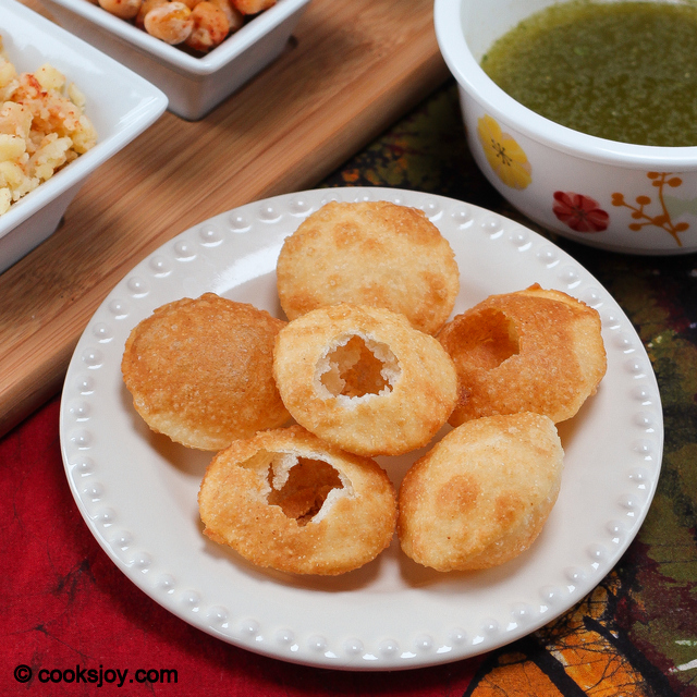 Pani Puri | Cooks Joy