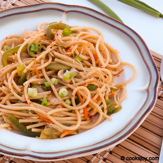 Chinese Style Vegetable Noodles | Cooks Joy