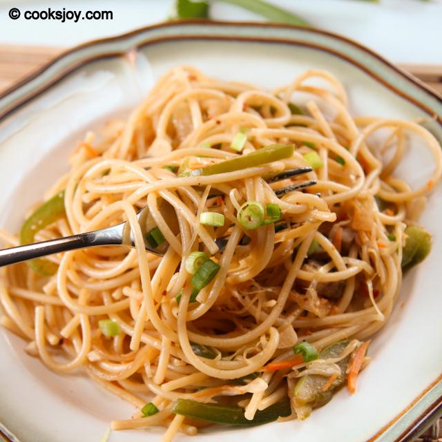 Vegetable Noodles | Cooks Joy