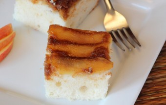 Apple Upside Down Cake Featured