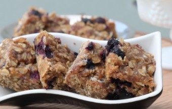 Blueberry Oats Bar Featured