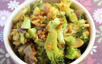 Broccoli - Methi Fry Featured