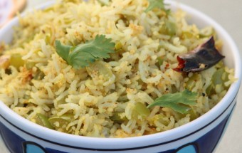 Capsicum Rice Featured
