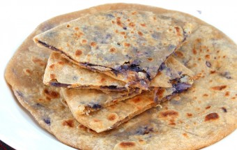 Cauliflower - Cabbage Paratha Featured