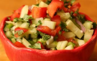 Cucumber Salsa Featured