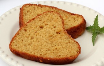 Eggless Wheat Jaggery Cake Featured