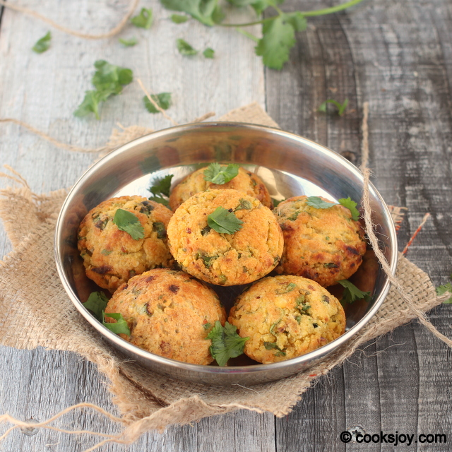 Masala Vadai (low fat) | Cooks Joy