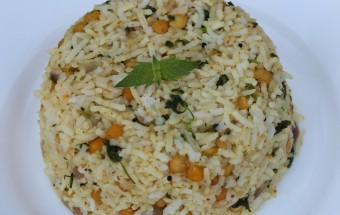 Methi Channa Dal Pulao Featured