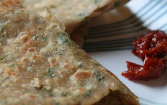 Methi Paratha Featured