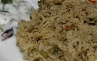 Mint Pulao Featured