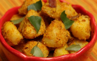 Potato Fry with masala Featured