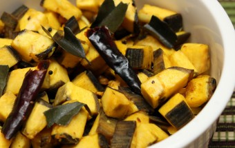 Raw Plantain Podimas Featured