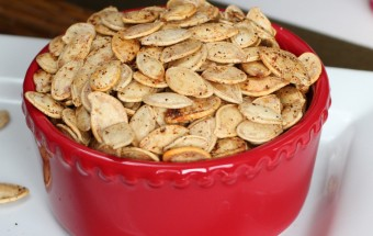 Roasting Pumpkin Seeds Featured
