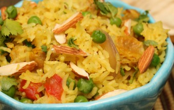 Soy Chunks Pulao Featured