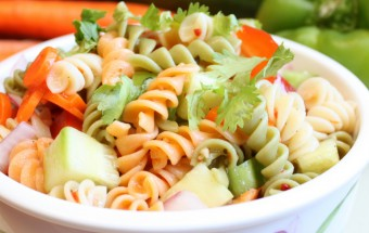 Summer Pasta Salad Featured