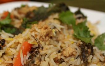 Vegetable Biriyani Featured