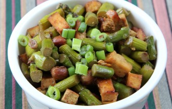 Asparagus Tofu Fry Featured