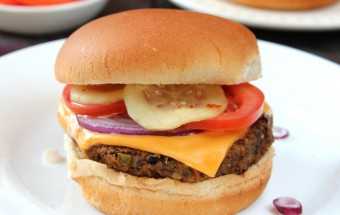 Black Bean Burger Featured