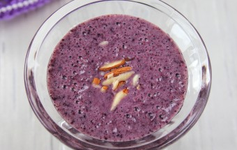 Blueberry Smoothie Featured