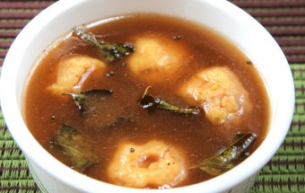Paruppu Urundai Rasam Featured