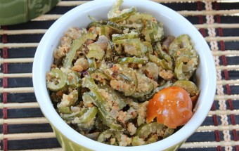 Snake gourd fry Featured