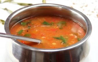 Tomato Rasam Featured