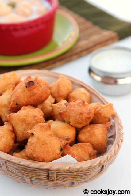 Bonda (South Indian Snack)   Cooks Joy