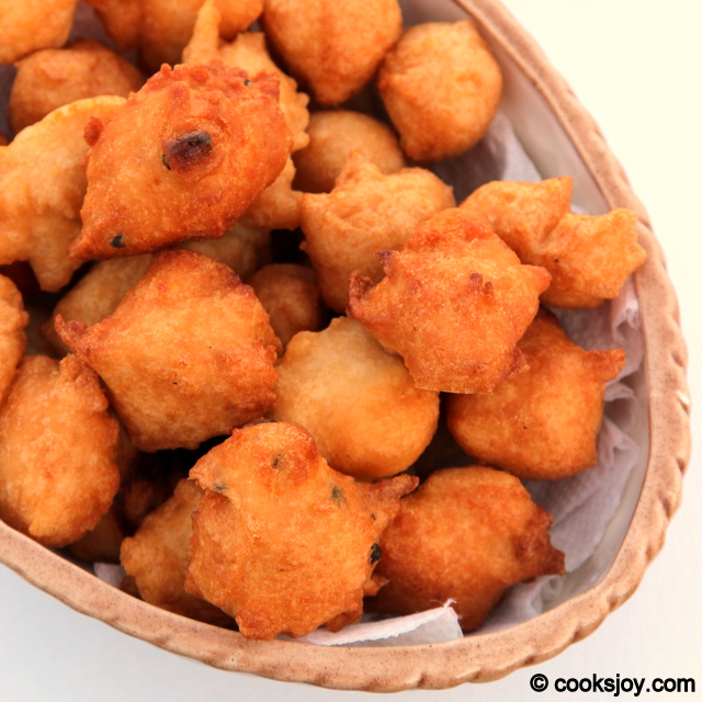 South Indian Bonda   Cooks Joy