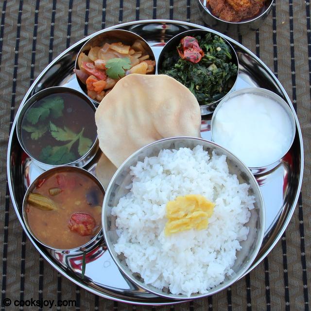 Daikon (Radish) Fry in Indian Thali | Cooks Joy