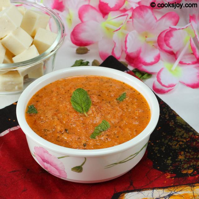 Basic Makhni Gravy   Cooks Joy