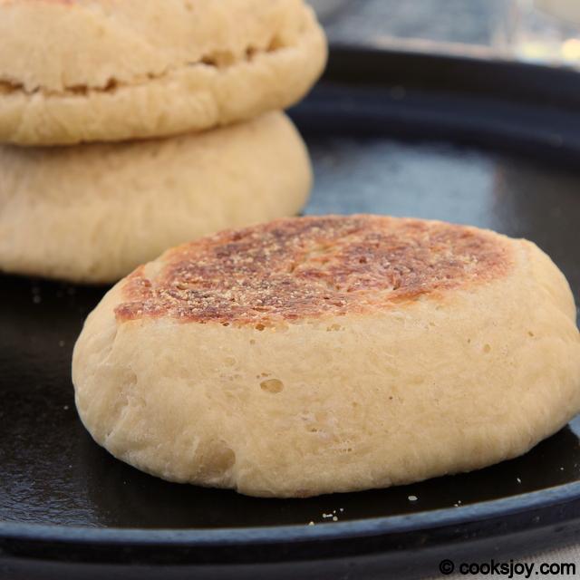 English Muffins   Cooks Joy