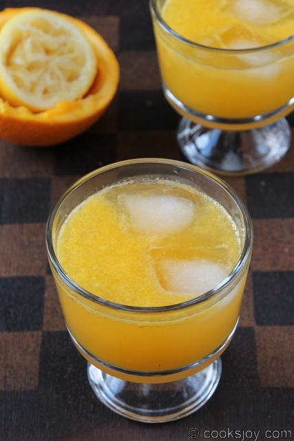 Orange Lemon Soda | Cooks Joy