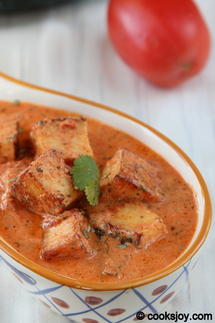 Paneer Makhani | Cooks Joy