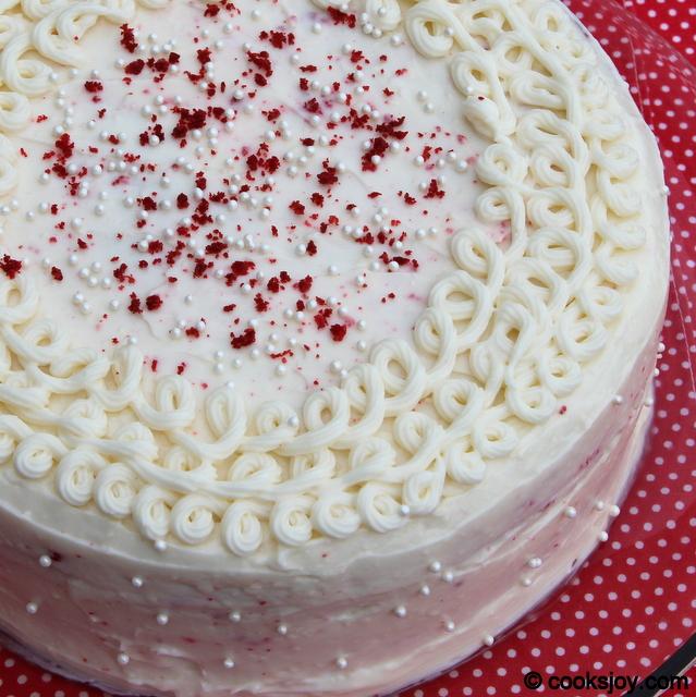Red Velvet Cake | Cooks Joy
