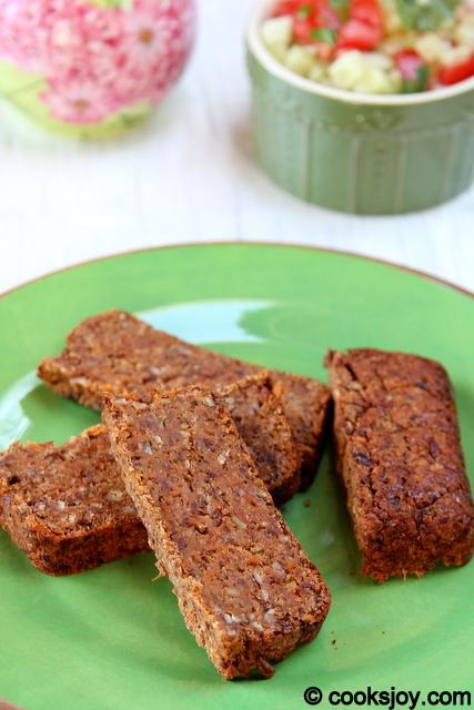 Spicy Lentil Loaf | Cooks Joy