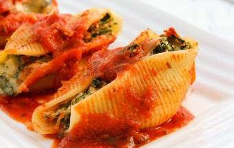 Spinach Ricotta Stuffed Shells | Cooks Joy