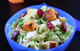 Brussels Sprouts - Paneer Salad | Cooks Joy