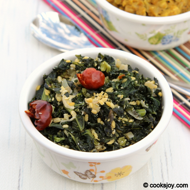 Kale-Lentil Stir Fry | Cooks Joy