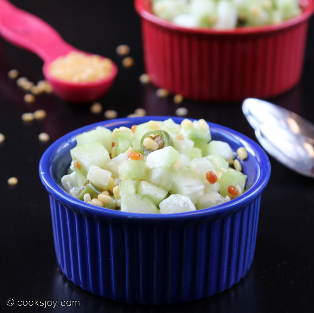 Kosumalli (Cucumber Lentil Salad) | Cooks Joy