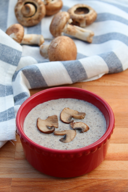 Healthy Mushroom Soup | Cooks Joy