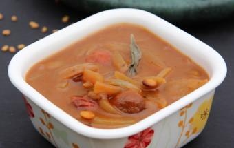 Onion Vatha Kuzhambu | Cooks Joy